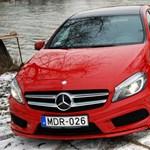Visszahívják az új Mercedes A-osztály autóit