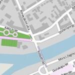 Árhullám jön, lezárták a rakpartot Győrben - térkép