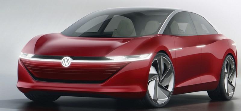 Mégis lesz kormány a Volkswagen Tesla-rivális új csúcsmodelljében