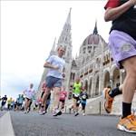 Budapestre járnak futni a külföldiek