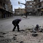 Gránátokkal lőtte Homszot a szíriai hadsereg