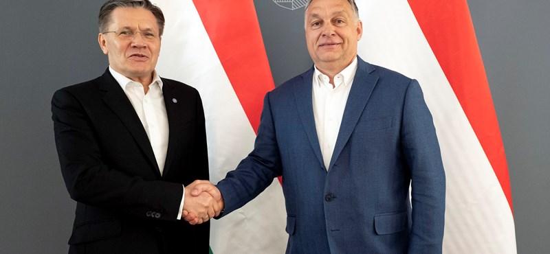 """Orbán a Roszatom-vezért fogadta: """"A paksi fejlesztés nemzeti érdek"""""""