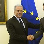 Meglepte Szijjártó Pétert a menekültügyi EU-biztos
