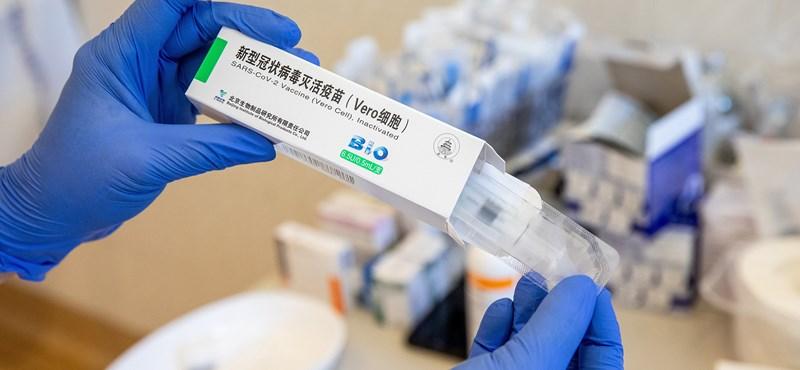 Olthatják a gyerekeket Sinopharm-vakcinával Kínában