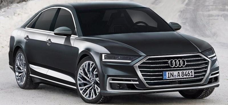 Érdekes videó: így fejti le az új Audi A8-ról az álcát egy dizájner