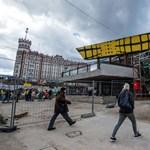 Elkészült a Széll Kálmán téri csarnok a csarnokban - fotók