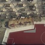 Furcsa focipályákat kaptak a nyomornegyed gyerekei - videó