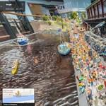 Csodás miniatűr világba is utazhatunk már a Street View-val – fotó, videó