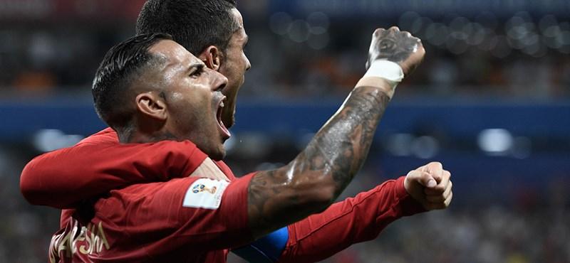 Irán - Portugália: 1-1, Spanyolország - Marokkó: 2-2 - ÉLŐ