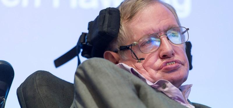 Ijesztő jóslattal állt elő Stephen Hawking
