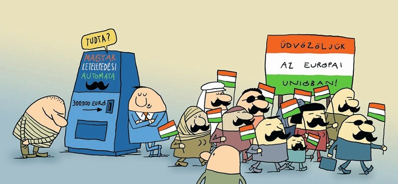 Fizetős kapu a határkerítésen VIP-migránsoknak