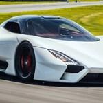 Megkezdődött a 480 km/h végsebességű új hiperautó gyártása