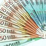 313 forint reggel egy euró