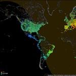 Látványos GIF-en a világ internethasználata