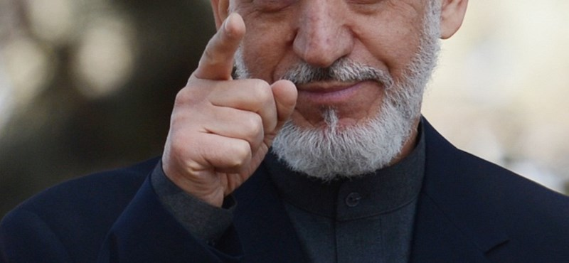 Az afgán elnök hazaküldte az amerikaiakat