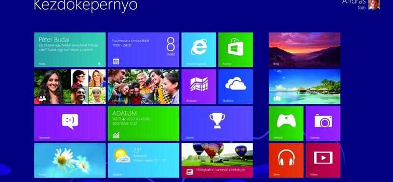 Visszakerülhet a Start menü a Windowsba