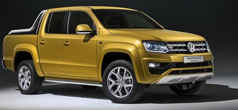 Bivalyerős lett a VW csúcspickupja, mutatjuk a legizmosabb Amarokot
