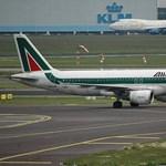 Bajban az Alitalia