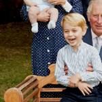 Százas vigyort villantott György herceg nagyapja születésnapján