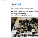 Milyen felszereléssel készül egy profi fotós a királyi esküvőre?