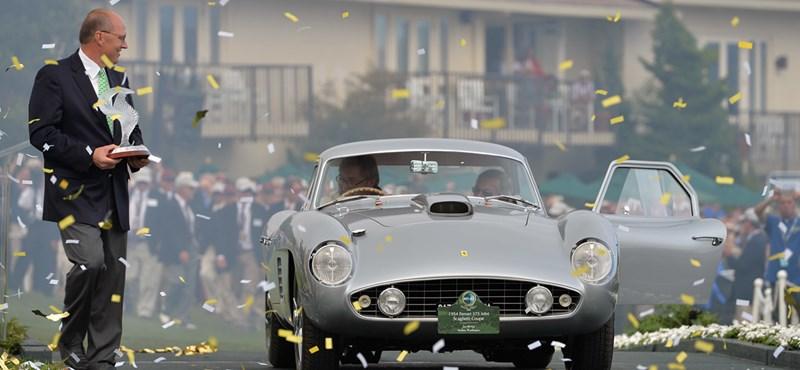 Először győzött Ferrari az egyik leghíresebb autó szépségversenyen