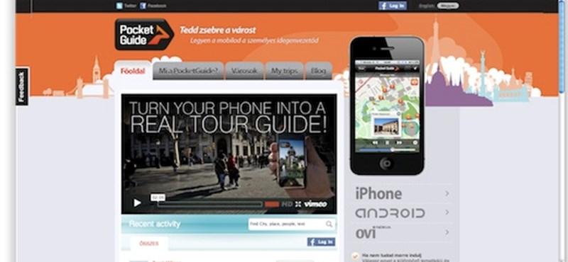 Útikönyv helyett városnéző mobilalkalmazás