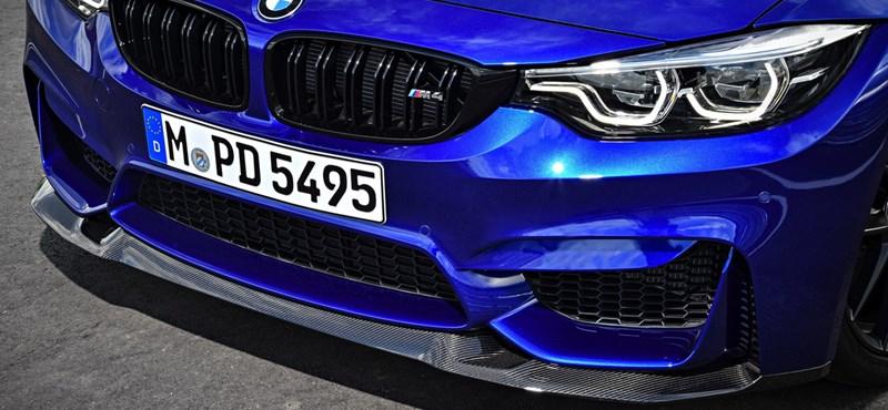 Élmény- és kanyarvadászatra termett: itt az új BMW M4 CS