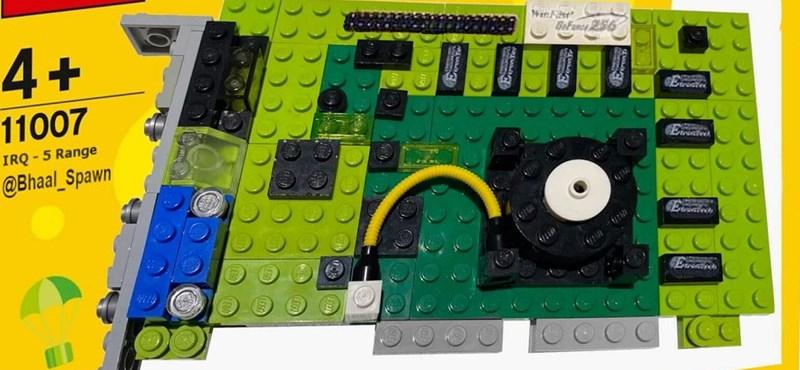 Valaki megépítette legóból a világ első GeForce videokártyáját