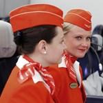 Fotó: az orosz stewardessek a legszexisebbek