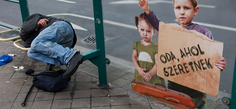Konok Péter: A hajléktalanok mi vagyunk