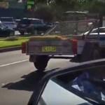 Ilyen nincs: valaki kecskéket szállított a Lamborghinivel – videó