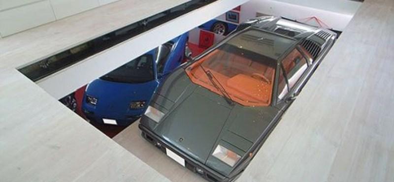 A tökéletes dísztárgy: Lamborghini a nappaliban