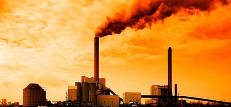 Baj van: 800 000 éve nem volt ilyen magas a szén-dioxid-szint