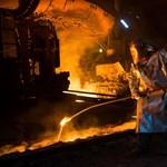Világszerte visszaesett az acéltermelés