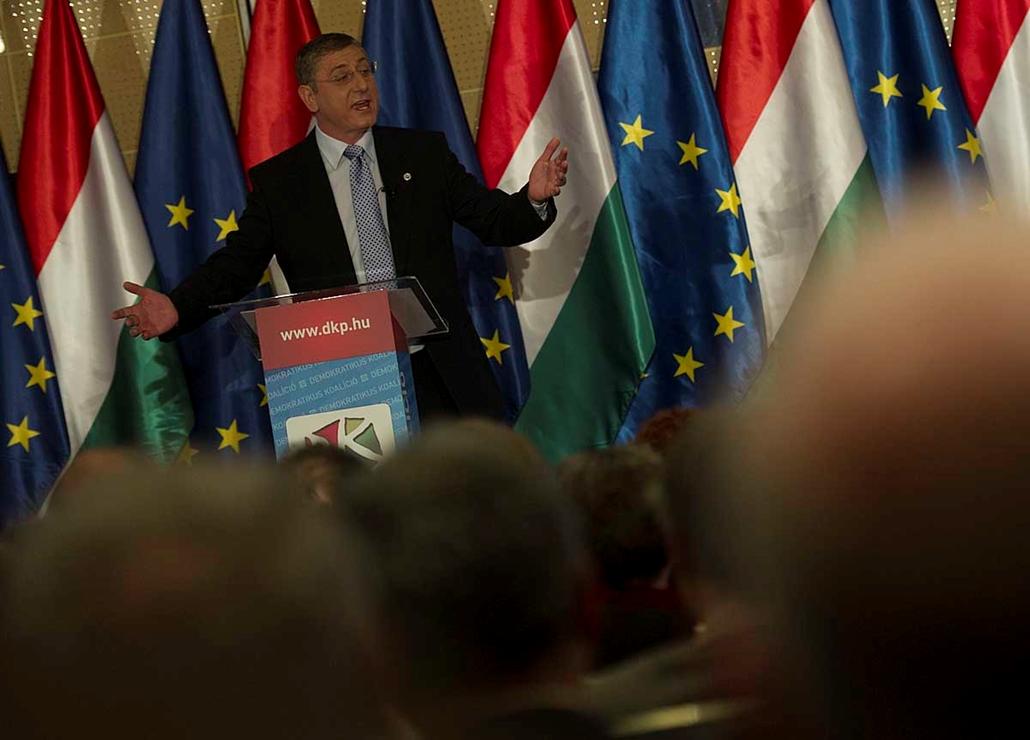 Gyurcsány Ferenc,évértékelő,választás 2014,választási riport