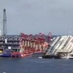 Döbbenetes videó: nézze meg egy percben a Costa Concordia egyenesbe állítását