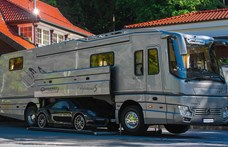 Lakás és garázs is egyben a legújabb luxuslakóbusz
