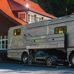 The apartment and garage are also the latest luxury coach