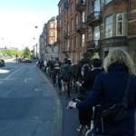 Elképesztő biciklishidat építettek Koppenhágában