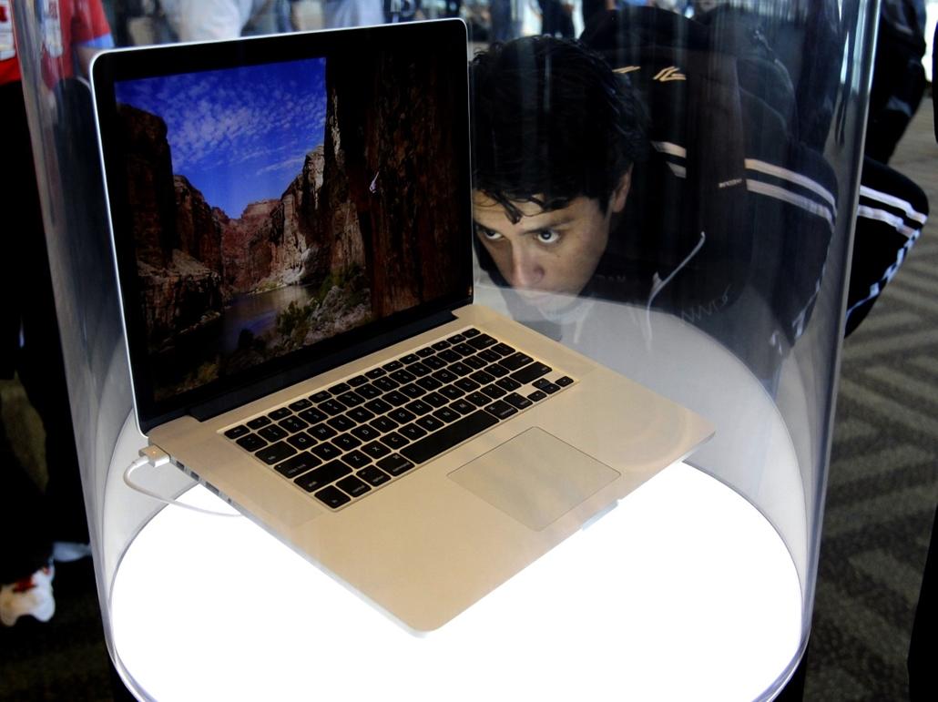 Apple WWDC - bejelentik az új Macbook PRo-t Retina Display kijelzővel