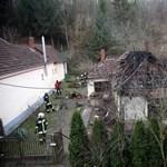 Leégett egy családi ház - egy halott Nemessándorházán