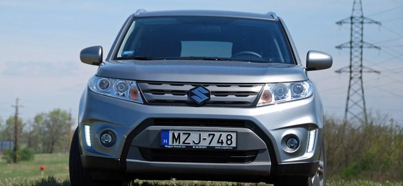 Suzuki Vitara-teszt: erre vártunk rég?