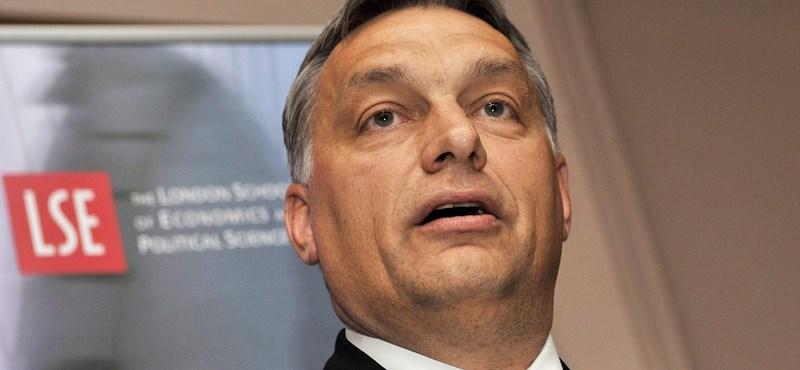 """Orbán Londonban: """"kockázatos"""" volt az IMF-ről szóló döntés, de helyes"""