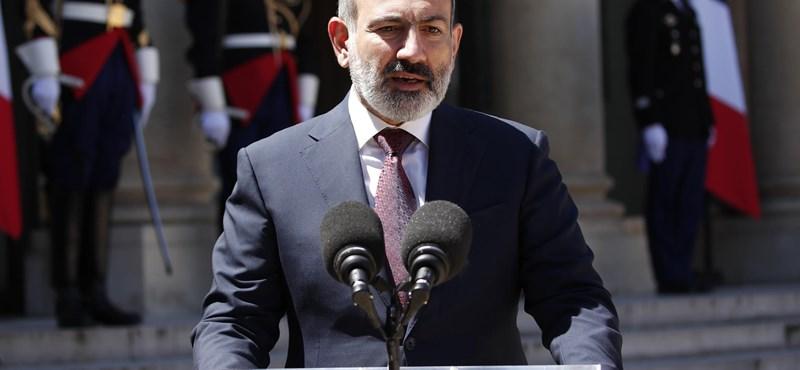 Saját fiát ajánlotta fel túszként az Azerbajdzsánban tartott hadifoglyokért az örmény miniszterelnök