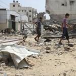 Izraeli harci gépek újabb csapásai a Gázai övezetre