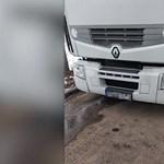 Videón egy trükkös magyar kamionos, aki nagyon nem szeret útdíjat fizetni