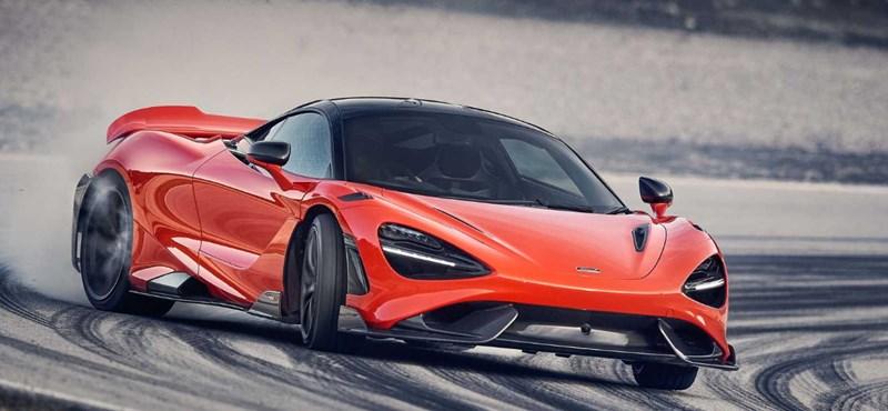 A McLaren tovább feszíti a húrt, itt a legújabb közúti versenyautója
