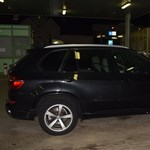 Alaposan szemügyre vették a BMW-t a csengersimai rendőrök