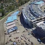 A legújabb drónvideó: itt tart most az építkezés az Apple campusán