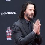 """""""Túl jó erre a világra"""": Keanu Reeves kedvességéről áradoznak, amerre jár"""